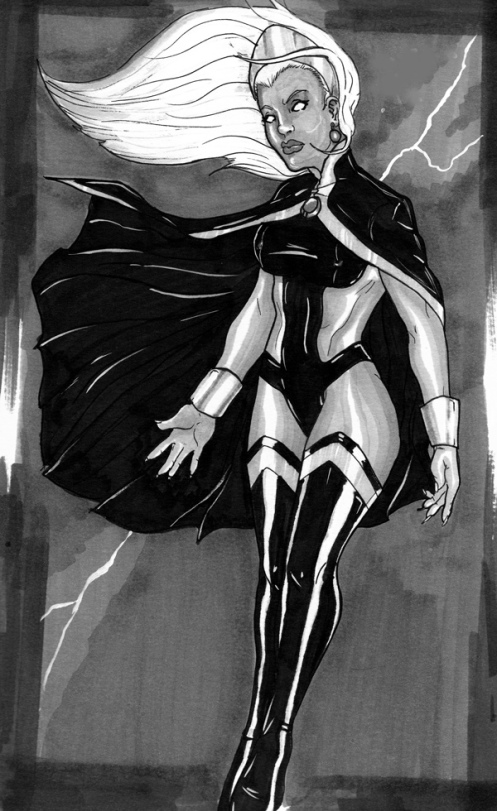 Ororo_sketch_by_piino_by_Piino